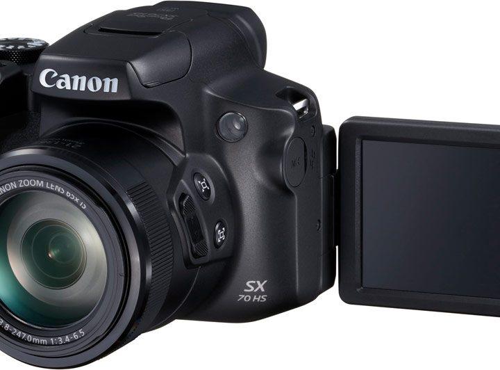 Imponerende 65x optisk zoom med Canon PowerShot SX70 HS