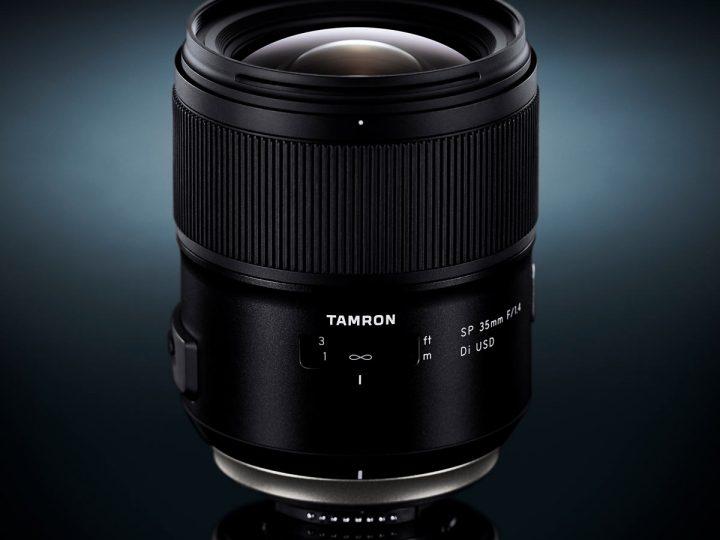 Ultraskarpt 35 mm f/1.4 fra Tamron